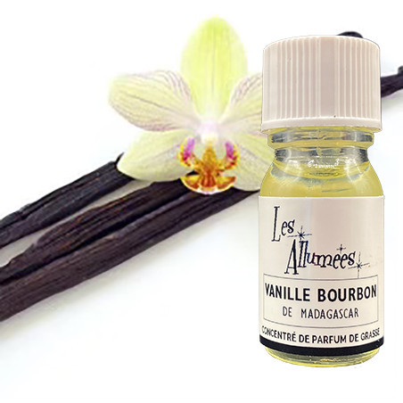 Parfum Vanille Bourbon de Madagascar - 10ml